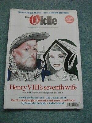 The Oldie Magazine October 2018 Issue 361 Reasonable Clean Condition