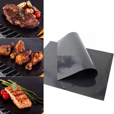Non-Stick Reusable BBQ Grill Mat Heat Resistant Barbecue Baking Coo Meat Liners
