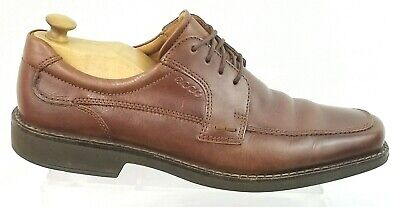 85f31097 ECCO MENS SZ 45/ 11-11.5 US Bicycle Toe Shock Point Oxford Dress Leather  Shoes