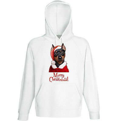 Clothes, Shoes & Accessories Miniture Pinscher New Cotton Grey Hoodie