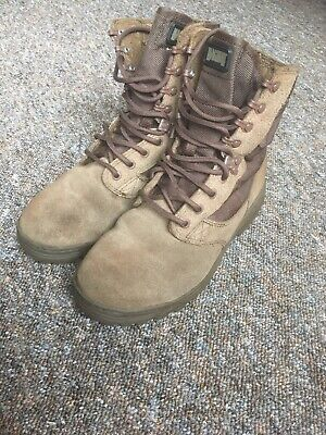 bca7fe0328a BRITISH ARMY ISSUE Magnum Brown Combat Desert Patrol Boots 12 M UK ...