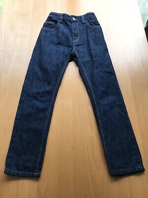 Next Boys Denim Jeans Age 9 Dark Blue Denim