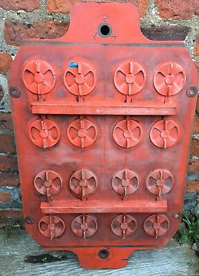 VINTAGE WOOD INDUSTRIAL FOUNDRY PATTERN MOULD CAST ART Mold Interior Design home
