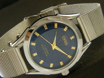 40MM VINTAGE HAND WINDING SWISS MADE FANCY CASE WRIST WATCH - a120901