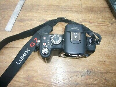 Panasonic Lumix G2 black body in excellent condition