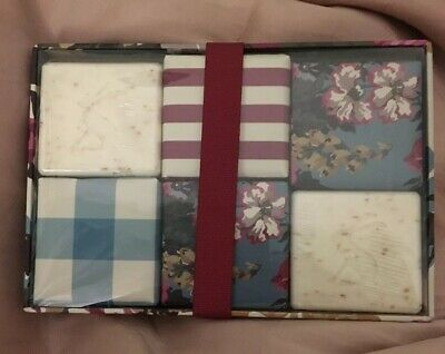 Joules Boxed Soaps Set 6 x Scented Soaps Gift Set BNIB