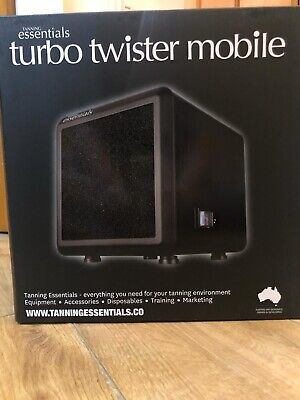 Tanning Essentials Mini Mobile Turbo Twister Extractor Fan BRAND New