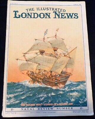 London Illustrated News, June 20th 1953 (Ships and Coronation)