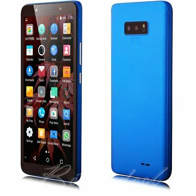 """Unlocked 6.0"""" Touch GSM Cell Phone Quad Core Android 7.0  Dual SIM Straight Talk"""