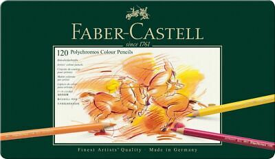 Faber-Castell Polychromos Stifte 120er Metallbox & CD