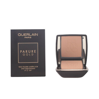 Maquillaje Guerlain mujer PARURE GOLD fdt compact #12-rose clair 10 gr