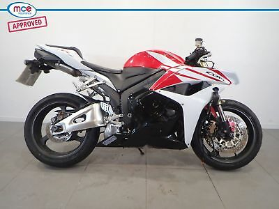 2013 Honda Cbr 600 Rr White Red