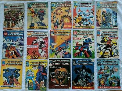 Transformers Comics 56 Issues From 31 To 144 And Spring Special And Action Force