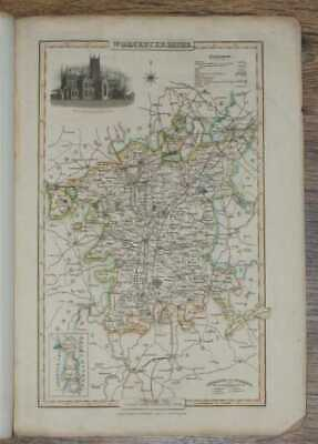 Maps: 1839 Pigot and Co  Map of the County of Worcestershire