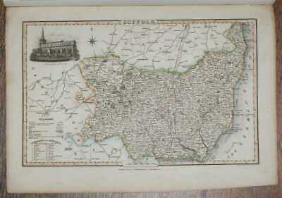 Maps: 1839 Pigot and Co; Map of the County of Suffolk