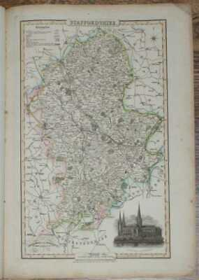 Maps: 1839 Pigot and Co; Map of the County of Staffordshire