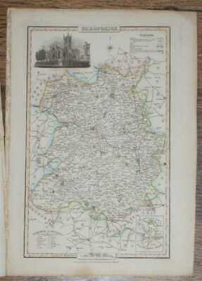 Maps: 1839 Pigot and Co; Map of the County of Shropshire