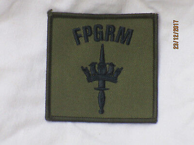 Fleet Protection Group Royal Marines, Fpgrm , Trf, Patch, Olive