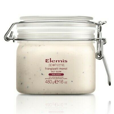 Elemis Frangipani Monoi Salt Glow 480G Seal In Moisture Soft And Nourished