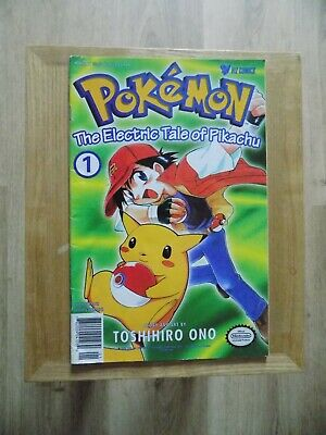 Pokemon: The electric tale of Pikachu Issues 1-4 comic books