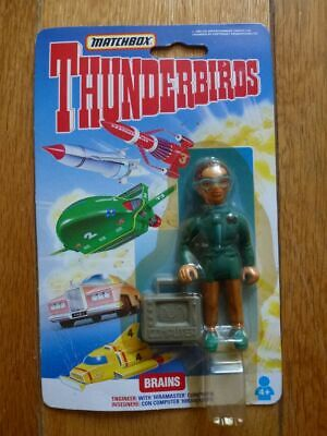 Figurine MATCBOX - 1992 - THUNDERBIRDS Les Sentinelles de l'Air - BRAINS