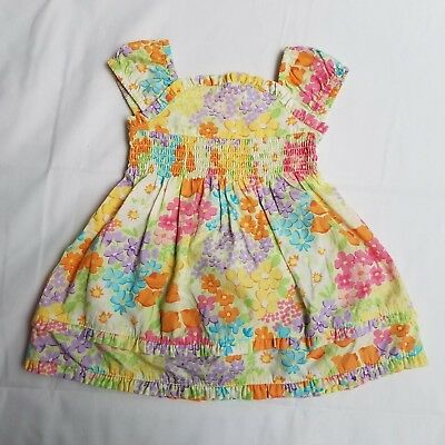 4b199e50a Gymboree Baby Girls Flowers Dress Size 3-6 mos 2 Piece Set Short Sleeve NWT