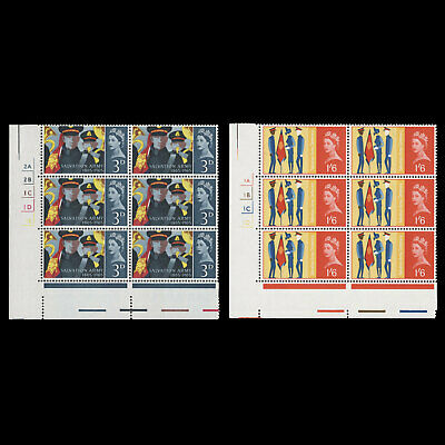 Great Britain 1965 (MNH) Salvation Army ordinary cylinder blocks