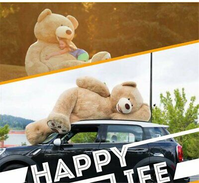 Super Huge Teddy Bear (only Cover) Plush Toy Shell (with Zipper) 160cm Gift