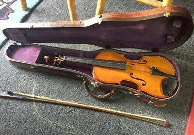 Antonius Stradivarius Cremonensis Anno 1652 Violin with Case