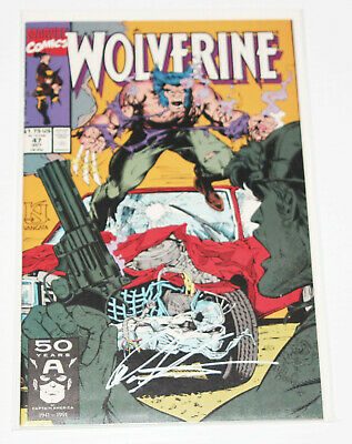Signed Edition w/ COA by Don Hudson - Wolverine #47 (1988 Series) Marvel 1991