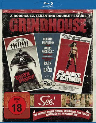Deathproof / Planet Terror - Grindhouse Double - New Sealed - Blu Ray - Region B