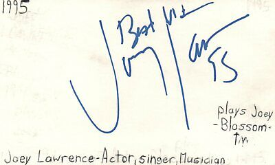 Leonard Frey Actor 1976 Uja Telethon Tv Movie Autographed Signed Index Card Entertainment Memorabilia Cards & Papers