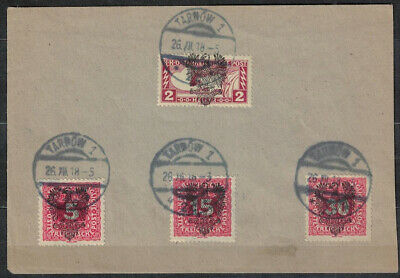 POLAND - AUSTRIA , FISCHER II .LOCAL POST OFFICE , TARNOW II nd ISSUE ON COVER