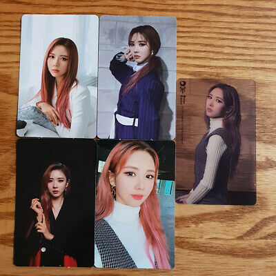 Yoohyeon Official Photocard Set Dream Catcher Mini Album The End of Nightmare