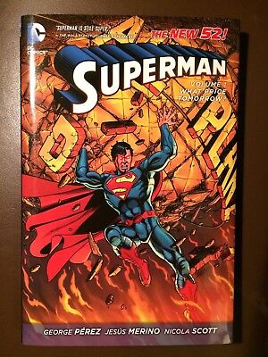 DC comics: SUPERMAN Vol 1 : WHAT PRICE TOMORROW?, New 52 Hardcover Graphic Novel