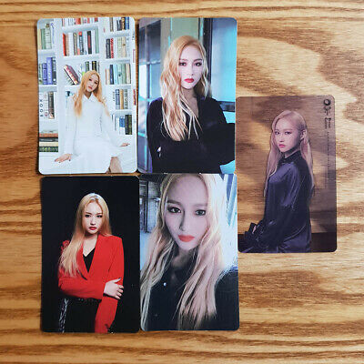 Siyeon Official Photocard Set Dream Catcher 4th Mini Album The End of Nightmare