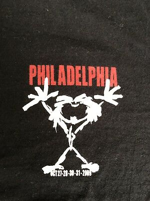 Pearl Jam 2009 Spectrum Event Shirt Sz XL Philadelphia Not Fenway Wrigley
