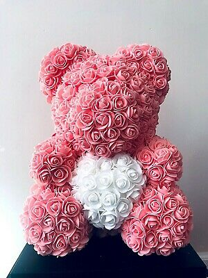 """14"""" Pink Teddy Bear for Valentine's Day Mother's Day Anniversary gift"""