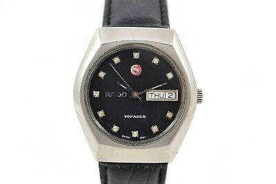 Vintage Rado Voyager Stainless Steel Automatic Mens Watch 162