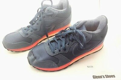 NEW NIKE MD Runner 2 Mid Running Shoes Navy Womens 807172