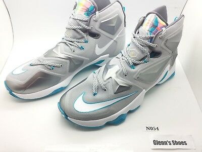 competitive price a1339 0105d NEW Nike Air Zoom Max James Hologram Wolf Grey Blue Lagoon 807219 Sz 13 N054
