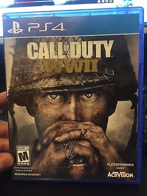 CALL OF DUTY: WW2 WWII PS4  Playstation 4 ps4 likenew