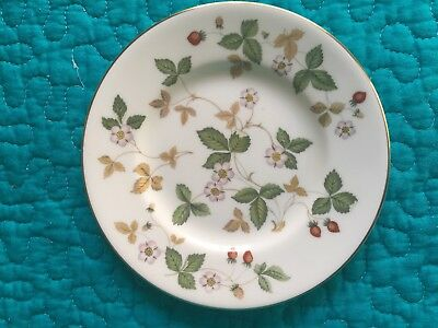 Wedgewood China Wild Strawberry bread and butter plate
