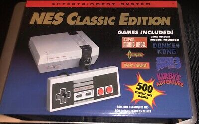500 GAMES Nintendo Classic Edition NES Mini Game Console (USA Shipping/Seller)