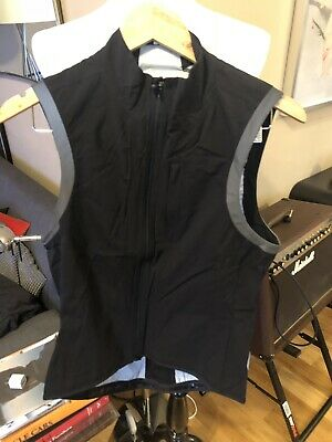 ... Bike Cycling Run Vest Lightweight Reflective Black Medium.