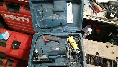 bosch jigsaw 110v with case working