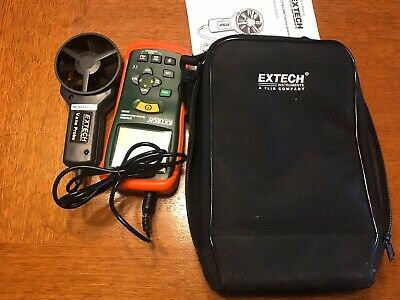 Extech CFM/CMM Thermo Anemometer InfraRed AN100 New Never Used..  Check Out!