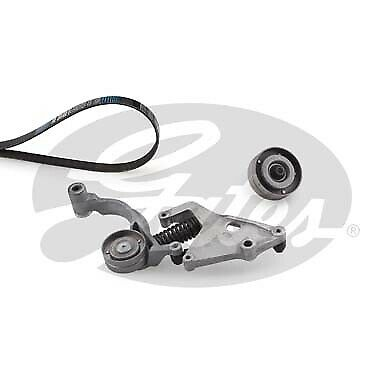 Gates K066PK1390 Tensioner Assembly, Idler Pulley, Custom Belt MINI Cooper S R53
