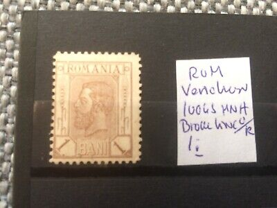 Romania - old variation broken line over R - MH