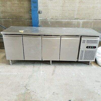 Used Bromic 4 Stainless Steel Under Bench Fridge